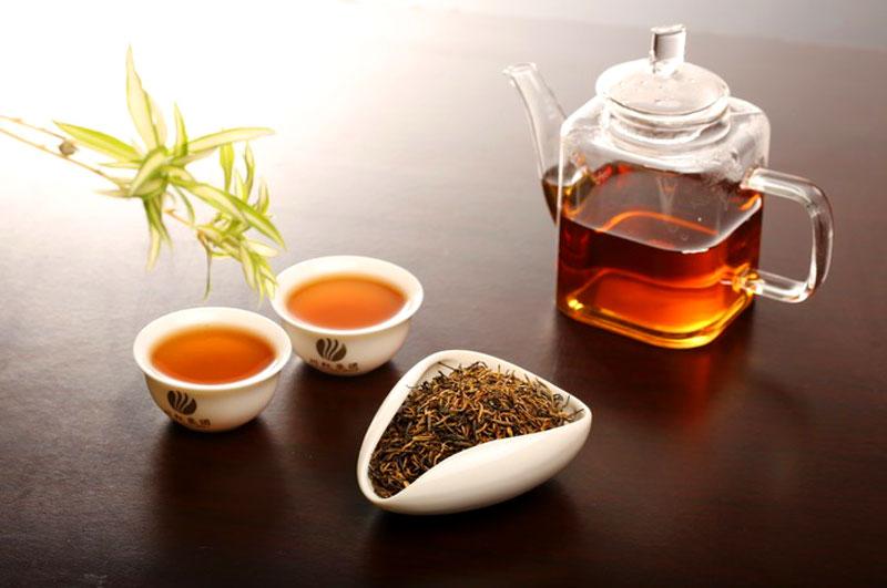 普洱茶-晒红