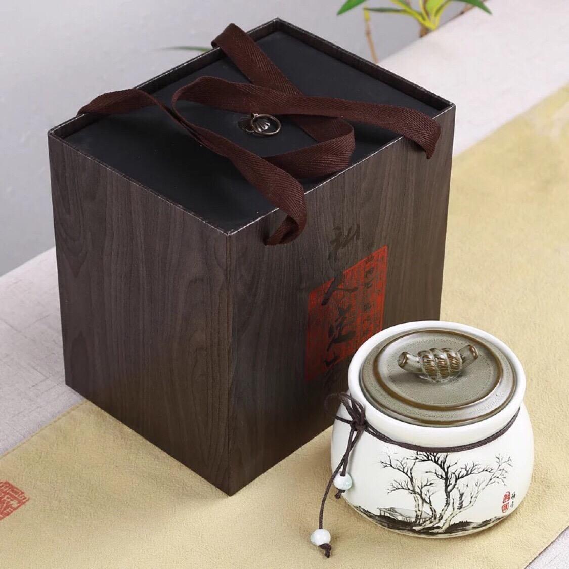 勐家仙茶-野生古树红茶 100g